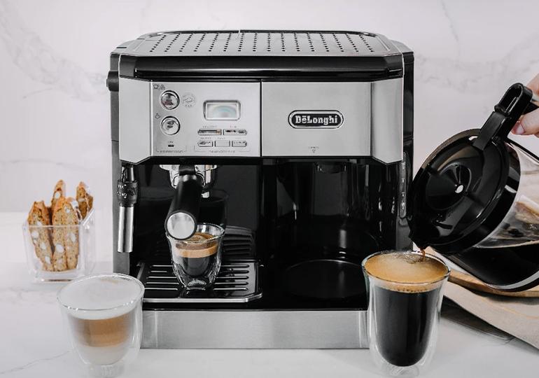 Kombinētie kafijas automāti