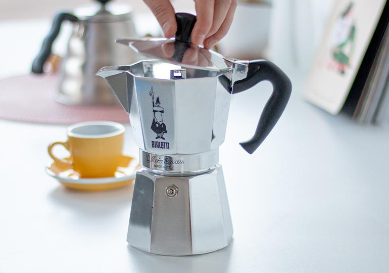 Moka kafijas automāts