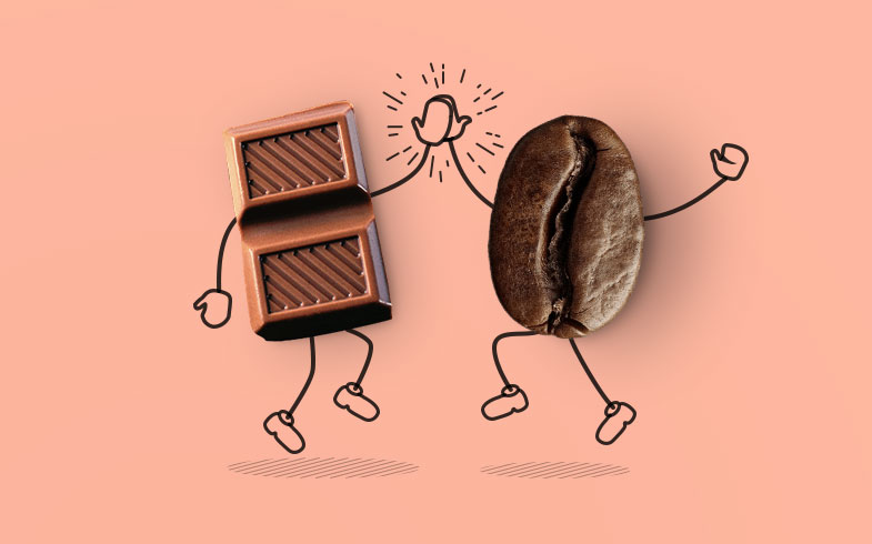 Šokoladas prie kavos