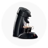 Pagalvėliniai kavos aparatai