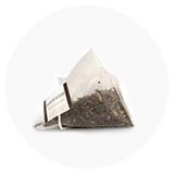 Arbata šilkinėse piramidėse