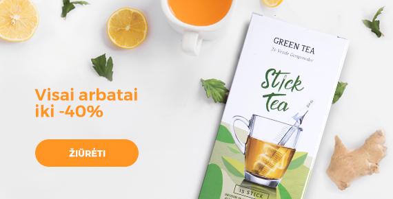 Visai arbatai - 40%