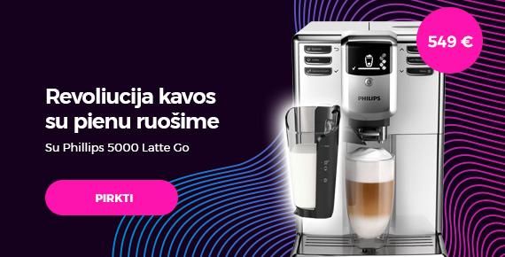 """Kavos aparatas Philips """"Series 5000 LatteGo EP5331/10"""""""