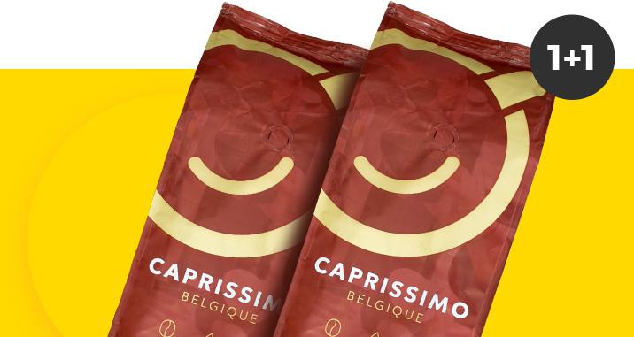 Pirk bet kurią Caprissimo kavą ir antrą gauk nemokamai