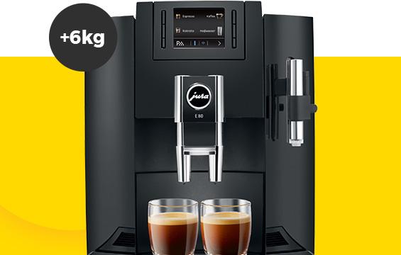 JURA E80 + 6 kg kavos dovanų