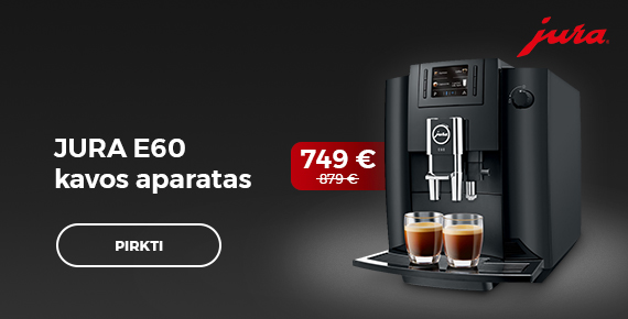 Jura E60 kavos aparatas 749 €