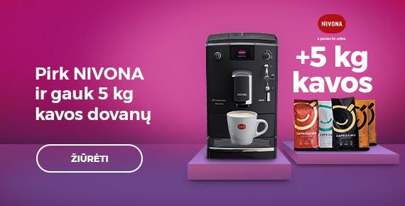 Pirk NIVONA ir gauk 5 kg kavos dovanų