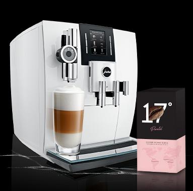 JURA J6 White tik 1549 € + Parallel kava dovanų