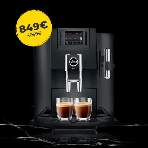 JURA E80 už specialią kainą 849 €