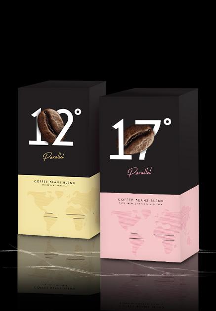 Parallel kavos pupelės 1+1