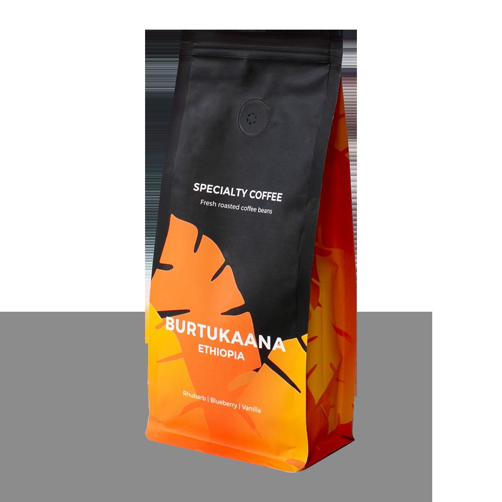 """Rūšinės kavos pupelės """"Ethiopia Burtukaana"""", 250 g"""