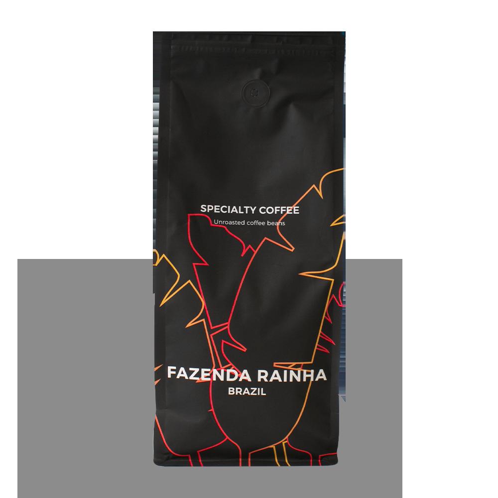 """Neskrudintos rūšinės kavos pupelės """"Brazil Fazenda Rainha"""", 1 kg"""