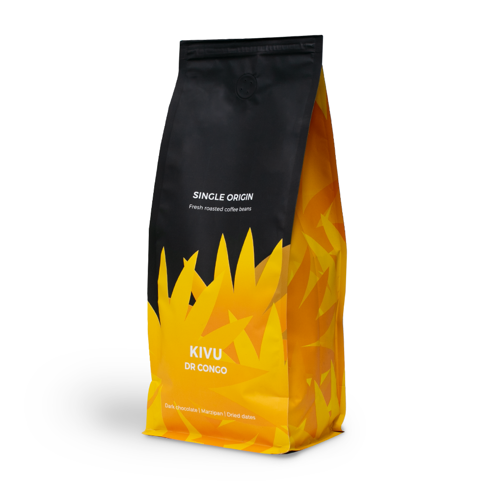 """Rūšinės kavos pupelės """"DR Congo Kivu"""", 1 kg"""