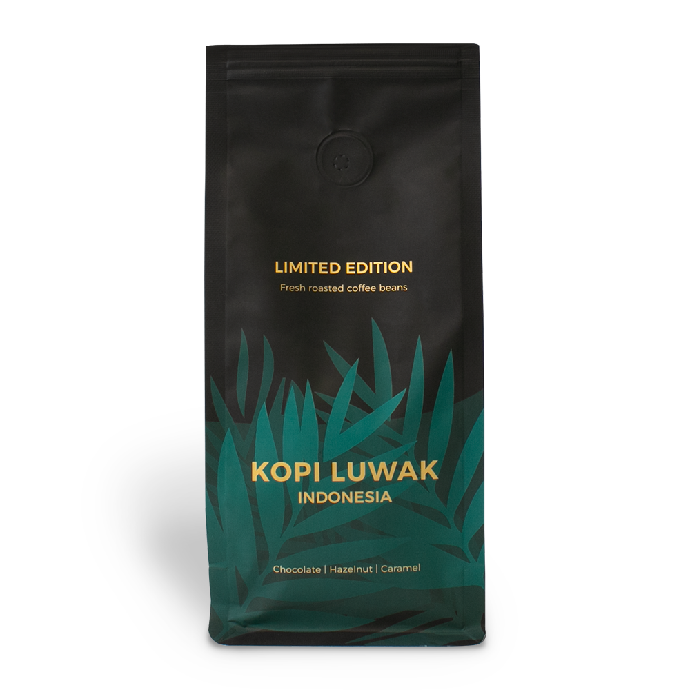 """Rūšinės kavos pupelės """"Indonesia Kopi Luwak"""", 250 g"""
