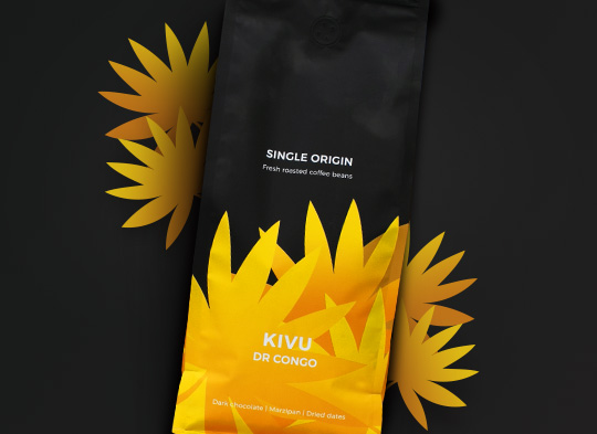 """Rūšinės kavos pupelės """"DR Congo Kivu"""""""