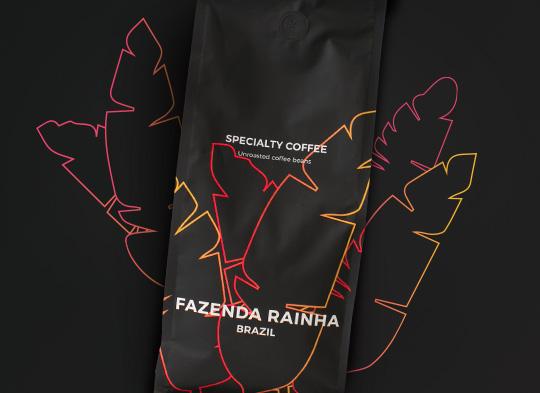 """Neskrudintos rūšinės kavos pupelės """"Brazil Fazenda Rainha"""""""