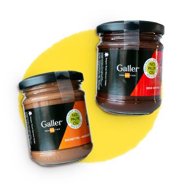 Galler šokolado ir riešutų kremai -25%