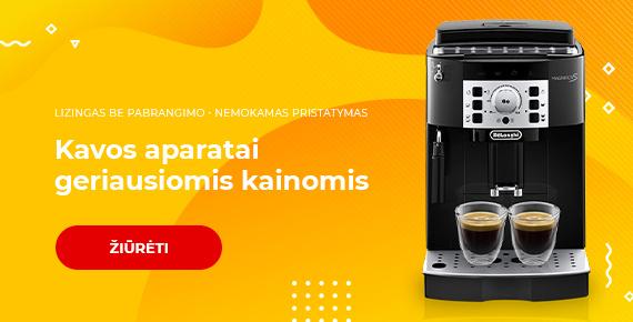 TOP kavos aparatų pasiūlymai