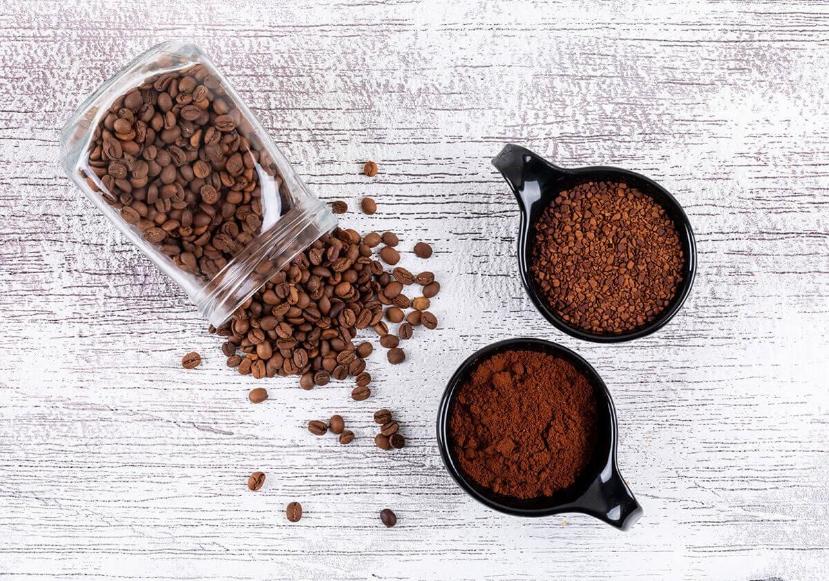 Tirpi kava vs šviežiai malta kava