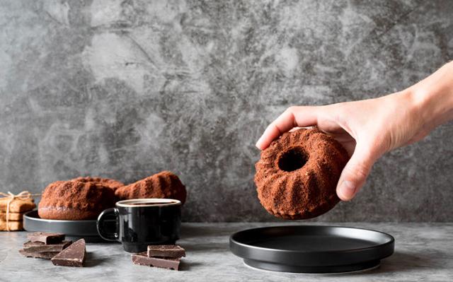 Kava ir sokoladiniai keksiukai