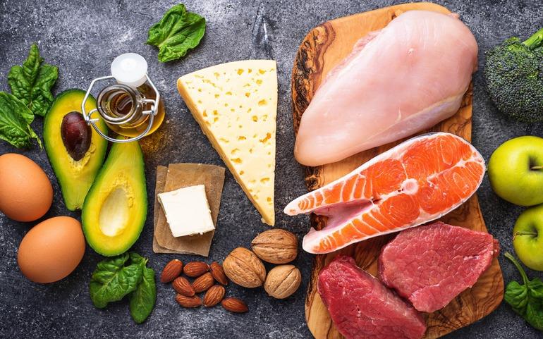 Keto dietos ingredientai