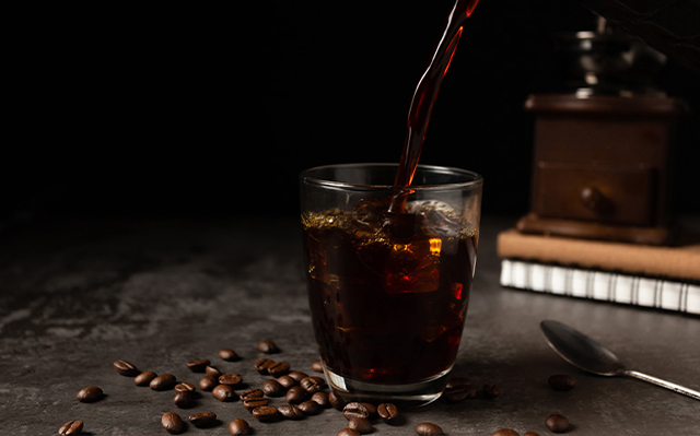 Alcohol coctails with coffee