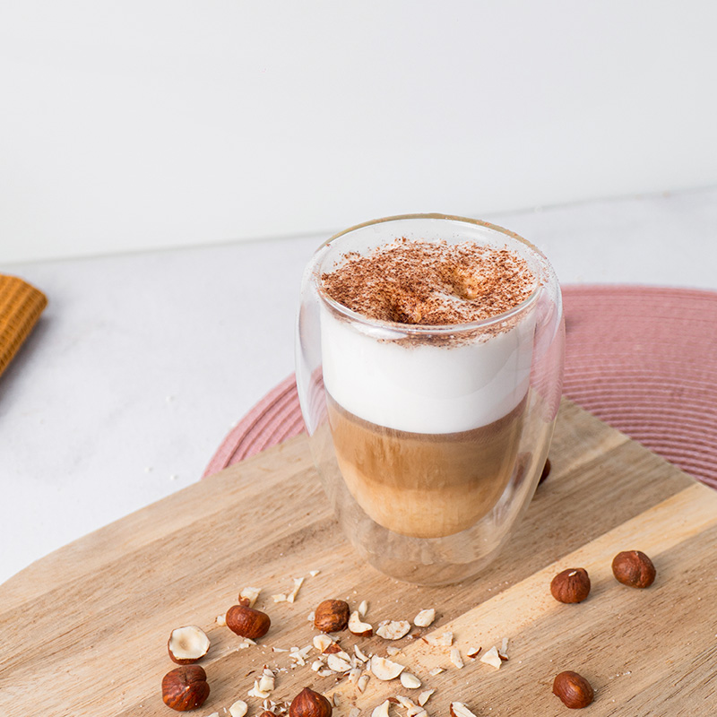 Lazdyno riešutų latte