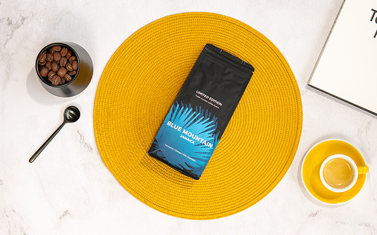 """Rūšinės kavos pupelės """"Jamaica Blue Mountain"""""""
