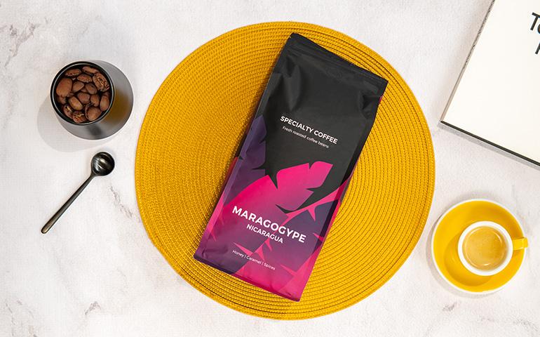 """Rūšinės kavos pupelės """"Nicaragua Maragogype"""""""