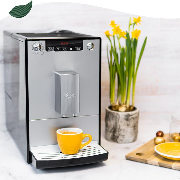 Melitta® Caffeo® Solo® ir Solo® & Milk serijos kavos aparatai nuo 269 €
