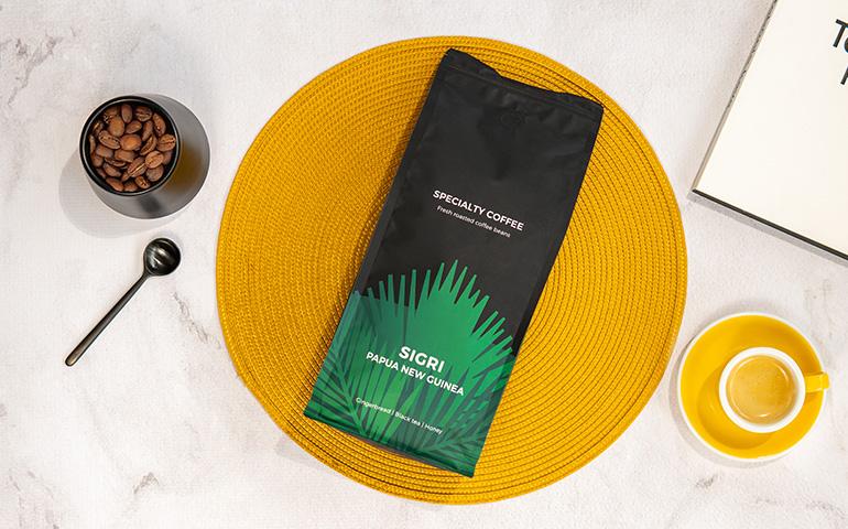 """Rūšinės kavos pupelės """"Papua New Guinea Sigri"""""""