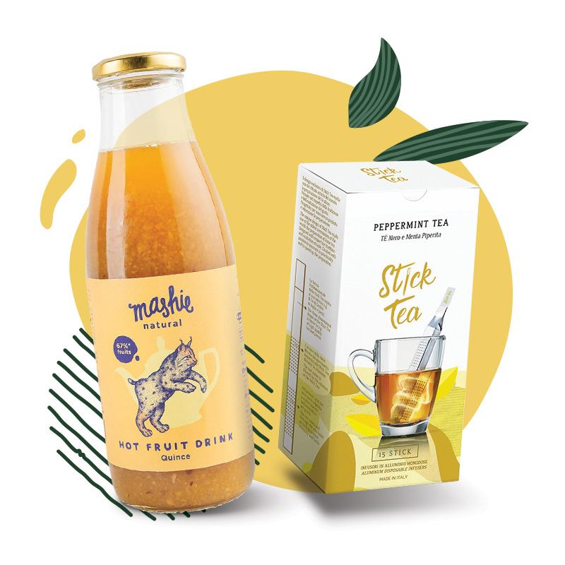 Nordic Berry & Stick Tea arbatoms -20%