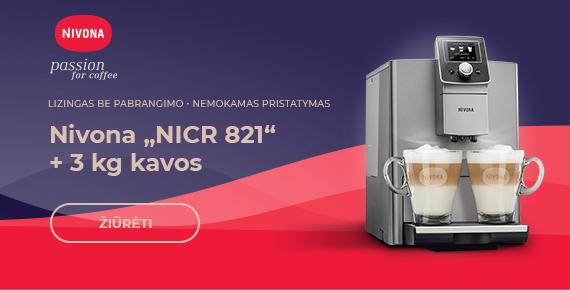 "Nivona ""NICR 821"" + 3 kg kavos"