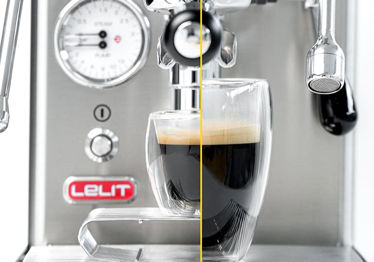 Kavos porcija