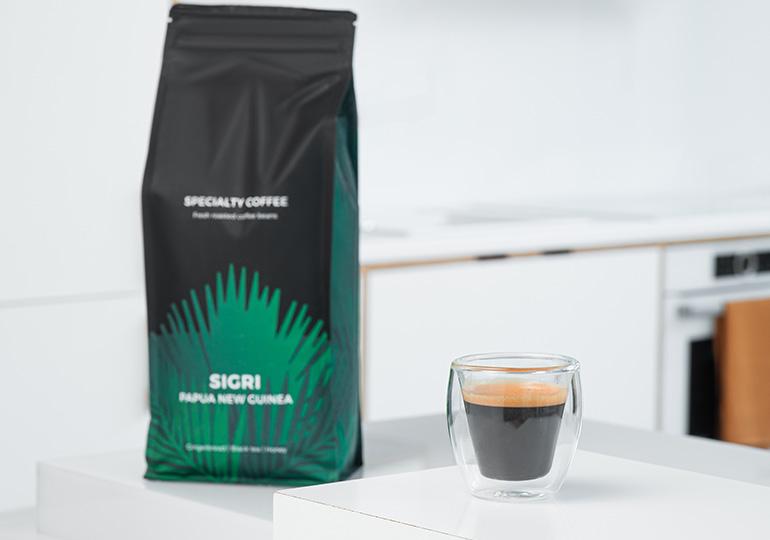 Kavos pupelės espresso kavai