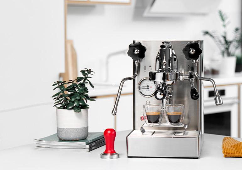 Espresso przyrządzane w domu