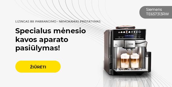 Specialus mėnesio kavos aparato pasiūlymas!