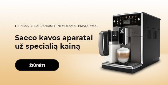 Saeco kavos aparatai už specialią kainą