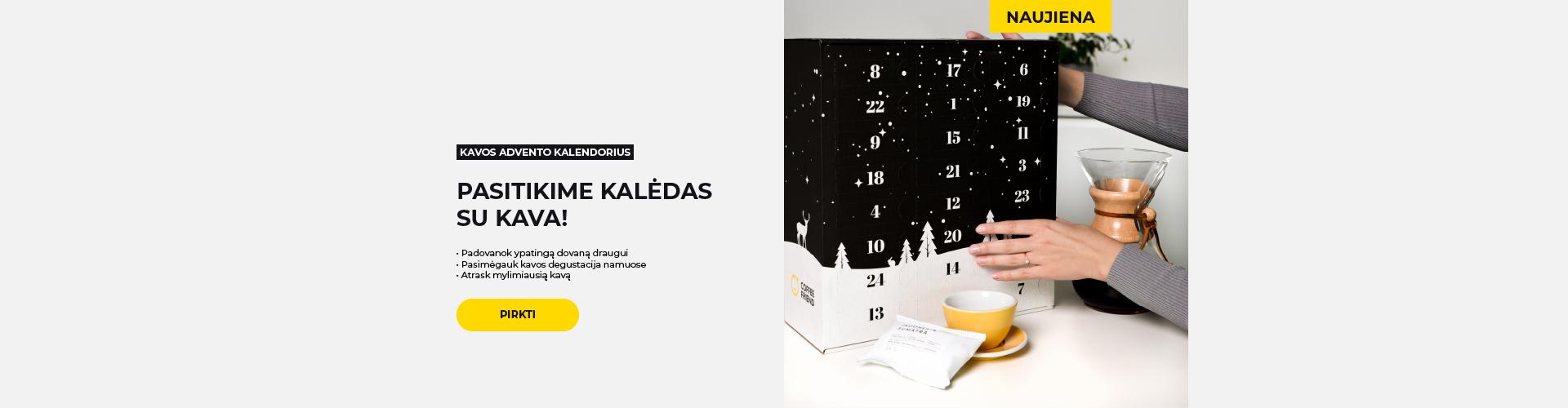 Kavos advento kalendorius